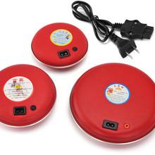 电热饼充电器暖宝宝2孔电源线电暖宝插头三孔暖手宝3孔二孔充电线