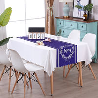 Coffee table tablecloth waterproof and oil-proof disposable table cloth table mat table coffee table mat bedside table cover towel Nordic tablecloth powder