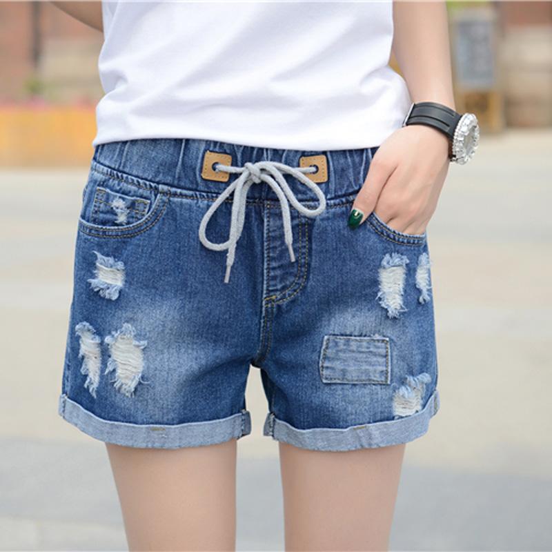 初中女学生 牛仔裤