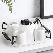 北欧茶杯茶具套装家用陶瓷茶壶客厅简约欧式下午茶创意花茶杯子