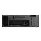 XQBOX A02 aluminum shell iron frame chassis HTPC horizontal ITX mini chassis half high graphics card