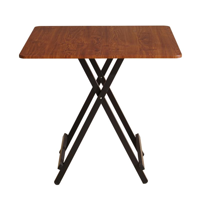 桌子折叠餐桌家用小方桌吃饭桌便携式摆摊桌户外折叠桌椅简易小桌