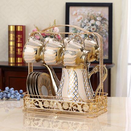 不褪色不锈钢杯架水杯挂架置物架创意马克杯茶杯咖啡杯架子收纳架
