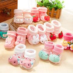 女宝宝地板袜