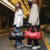 短途旅行包运动包行李包轻便韩版 干湿分离健身包 旅行袋行李袋