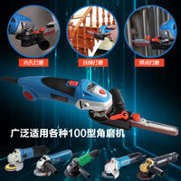 TCH belt machine sand strip small diy micro mini angle grinder modified machine head sandpaper machine woodworking grinding machine