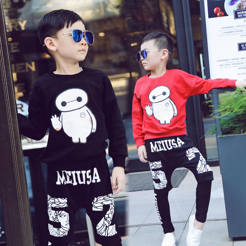 男童打底裤假两件