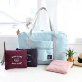 手提旅行包可套拉杆箱收纳大容量短途单肩折叠防水女牛津布行李袋