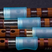 不锈钢笛子蝶韵初学成人专业演奏零基础横笛加厚金属乐器纯钢笛子