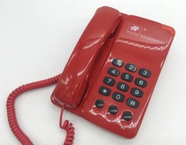 Clearance Sale Hotel Guest House landline fixed telephone room with simple old person telephone red
