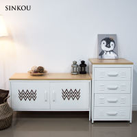 SINKOU custom panel is limited to custom-made steel cabinets in the shop