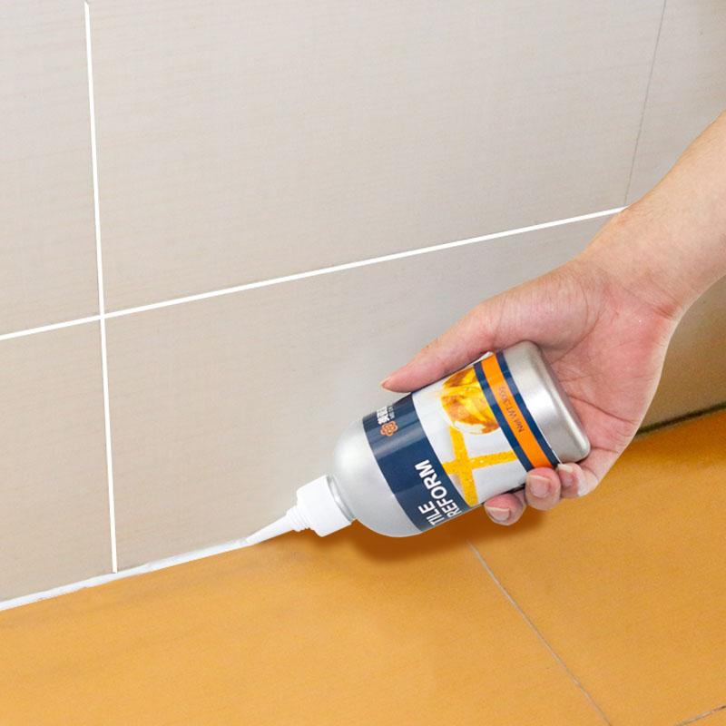 厨房卫生间浴室地板砖填缝剂墙面去污清洁剂瓷砖缝隙除霉防水防霉