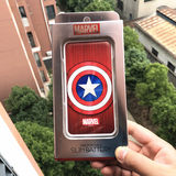South Korean genuine Manway US captain 10000 mA mobile power supply personalized portable high-capacity charging treasure