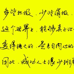 张神农手写行书草书临摹练字帖 成人大学生钢笔硬笔行草书法字帖