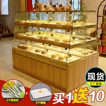 货架抽屉式面包架蛋糕模型柜台展示架边柜面包展示柜面包柜