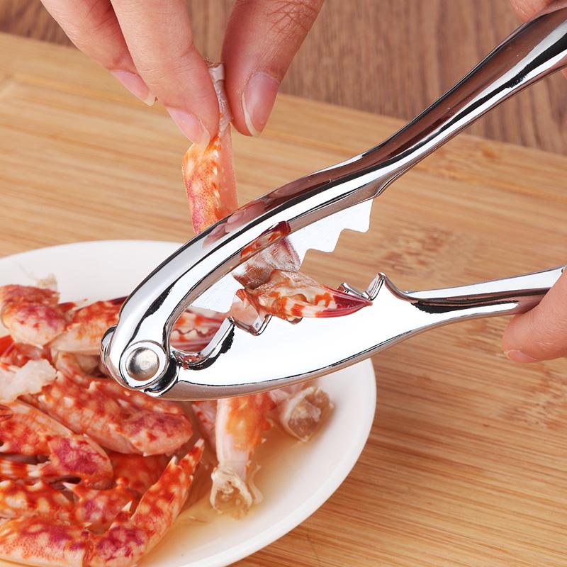 金属锌合金吃螃蟹工具 剥大闸蟹蟹神器送螃蟹针