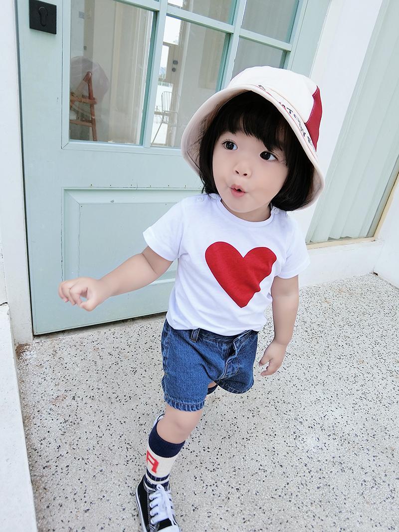 小女孩时尚打底衫