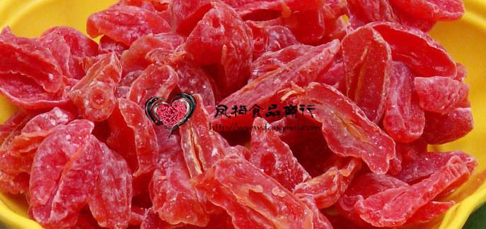话梅条 酸甜话梅条 梅子干  蜜饯果脯果干法式梅条休闲零食250g