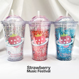 Strawberry Music Festival straddle strawberry cup