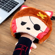 USB hand warmer mouse pad warm mouse pad wrist warm hand treasure fever heating mouse pad warm gloves