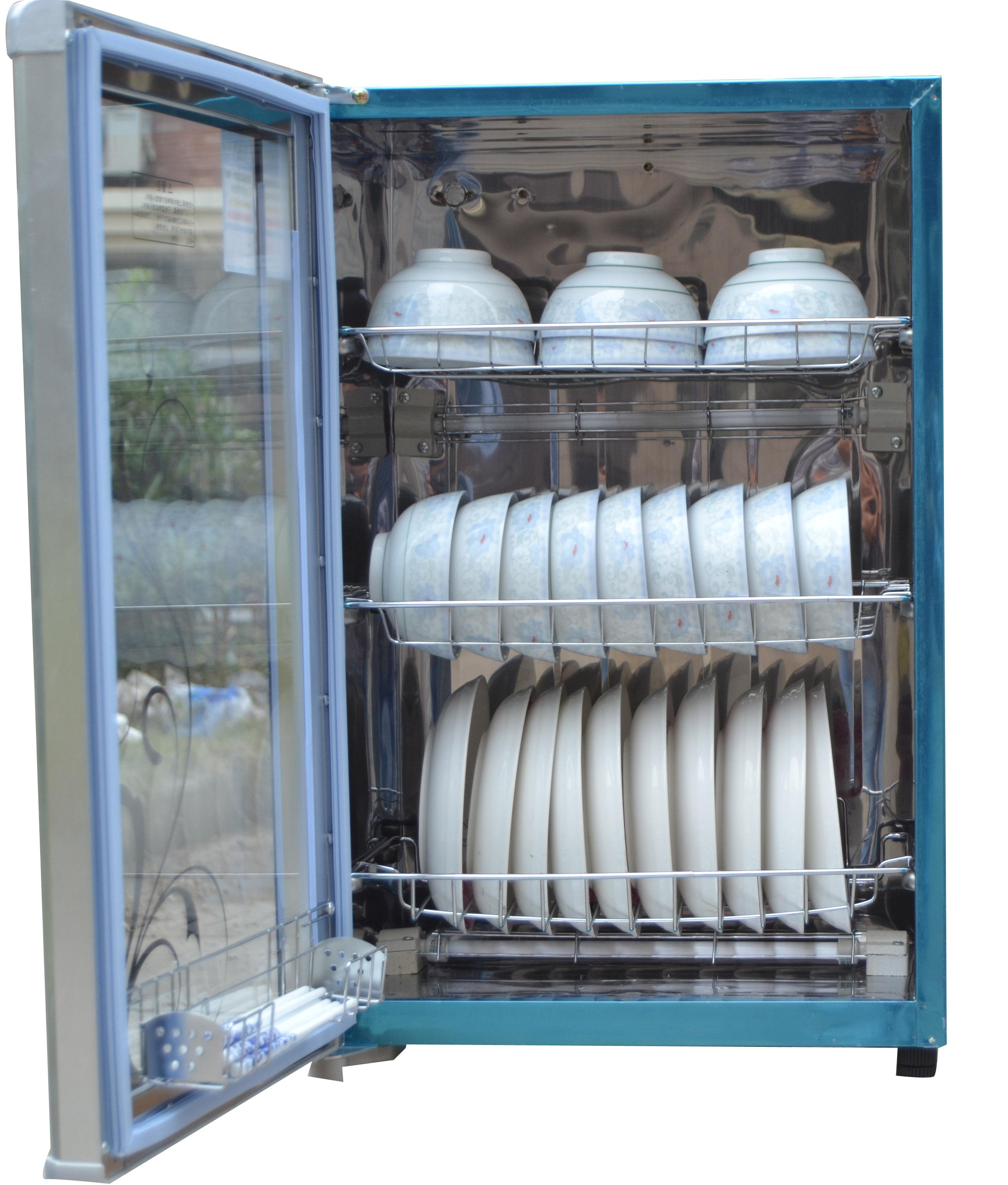 迷你小型杯柜 68L 消毒柜消毒碗柜立式高温光波家用商用 30L60L 枫花