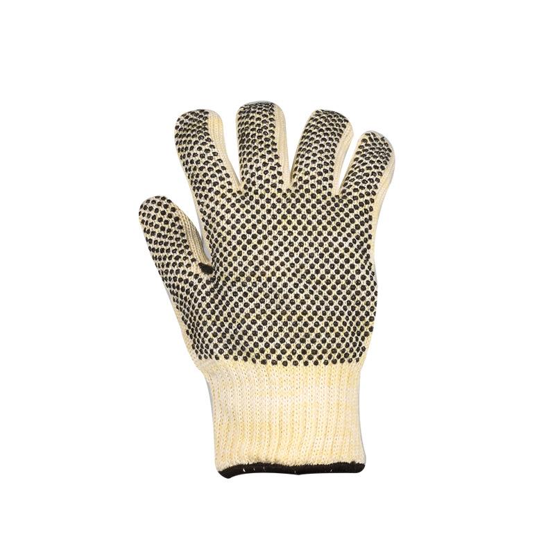 双面点珠防烫耐高温手套加厚耐磨隔热手套闷子bbq烧烤手套微波炉