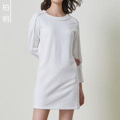 棉质连衣裙冬