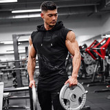 Sports fitness vest men's spring casual vest Korean version of the trend of the vest sleeveless muscle training summer brothers vest