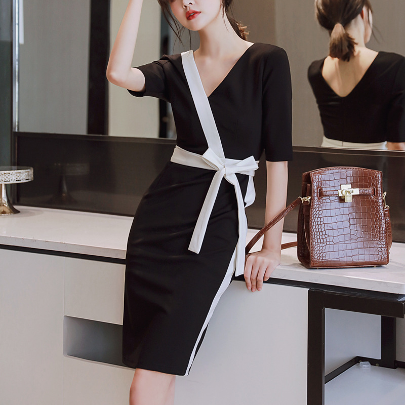 Business casual office overalls women's white-collar temperament Slim fashion small suit position