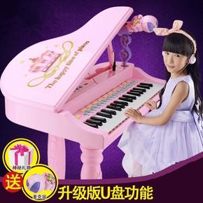 琴譜充電女孩入門彈彈琴10立式8帶兒童鋼琴小唱歌家庭初學者公主