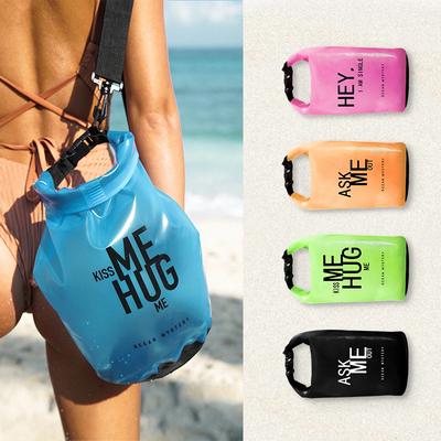 OceanMystery游泳包防水包彩色透明字母游泳装备收纳袋沙滩包男女