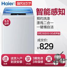 海尔洗衣机全自动家用波轮单筒小型5.5公斤Haier/海尔 EB55M2WH