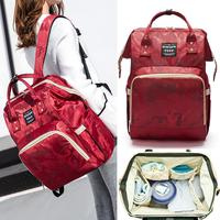妈咪包双肩包女时尚妈妈包母婴包大容量旅行宝妈包2018新款背包包
