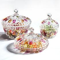 Japon importés Soga boîtes de sucre blanc verre coloré boîte de sucre avec couvercle boîte de bonbons collations fruits secs boîtes de bonbons dédouanement