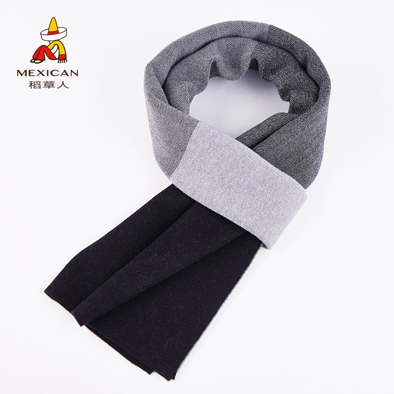 男式围巾羊毛