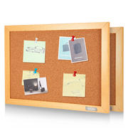 Effective soft wood photo wall Art work show dormitory IKEA theme decorative bulletin board Water pine felt notice notice board Kindergarten propaganda background note pin message board