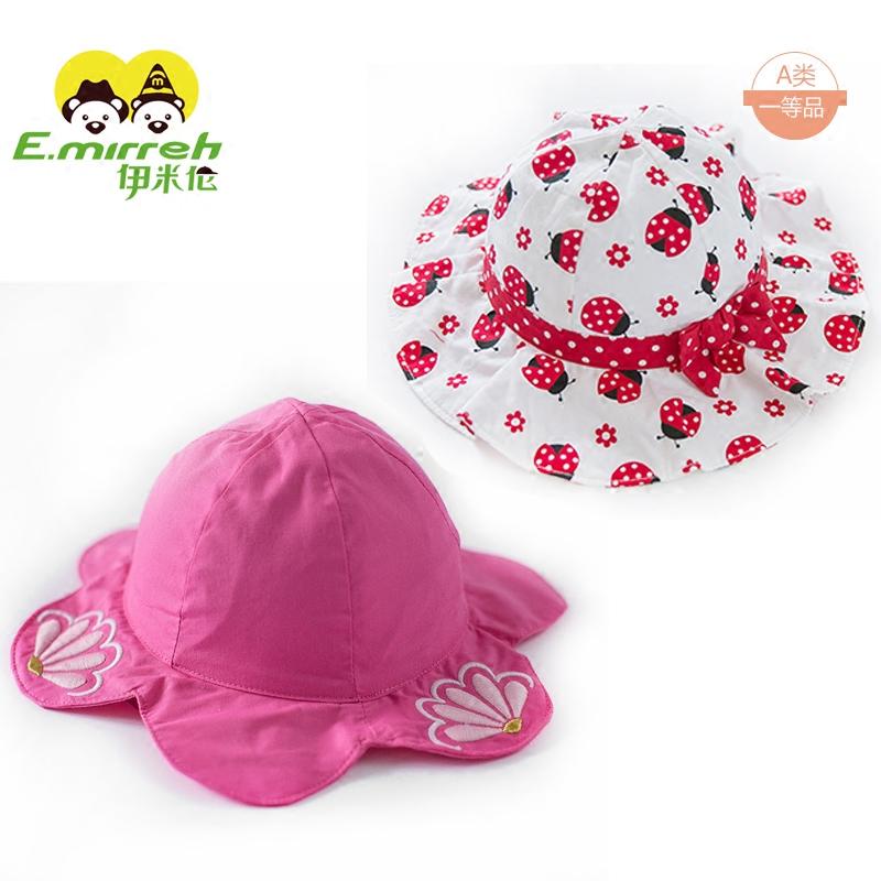春夏女宝宝帽子
