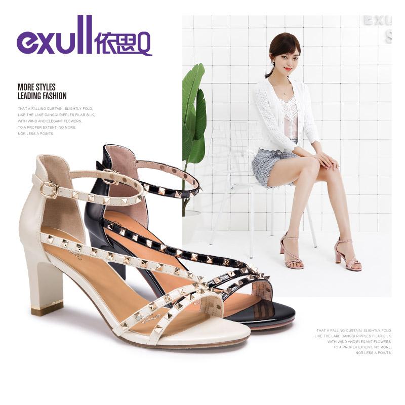 罗马时尚性感高跟鞋