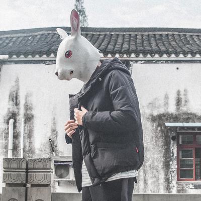 兔子先森棉衣男士外套冬季韩版潮流学生加厚保暖面包衣服短款棉袄