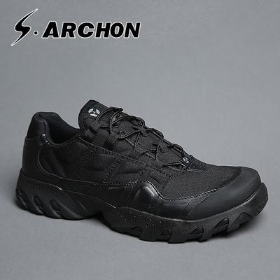 执政官战术鞋男冬季低帮作战靴防水透气户外特种兵鞋子作训靴军靴