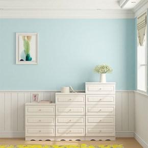 包邮现代简约板式三斗四斗五斗柜客厅储物抽屉收纳木质田园白色柜