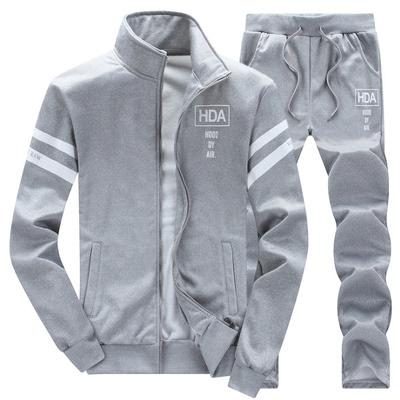 男士卫衣运动套装春秋季青年潮流休闲学生立领运动服夏装男两件套