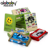 Alababy children's cartoon wallet boys and girls cute coin purse primary school Korean version of the wallet short card package