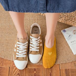 6双包邮浅口女袜子棉袜爱心船袜短袜女袜子春夏薄棉