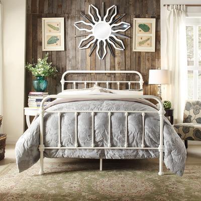 欧式铁艺复古做旧床 简约现代酒店旅社单人双人床1.21.51.8 床架什么牌子好
