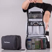 韩国懒人化妆包便携抽绳旅行大容量收纳包化妆袋洗漱包简约化妆包