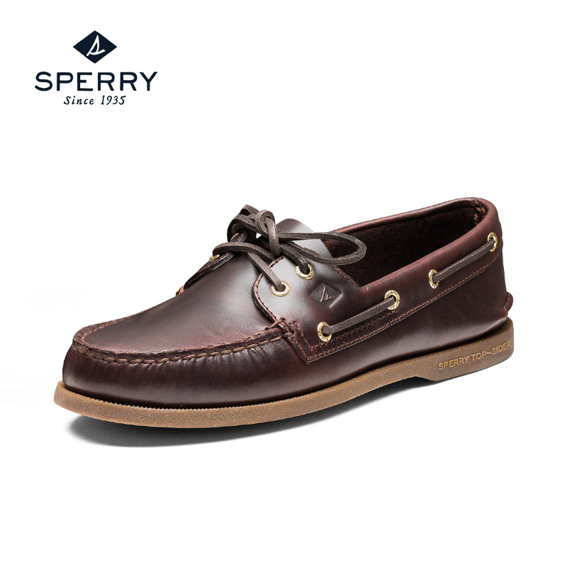 复古帆船鞋男