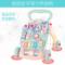 艾贝儿宝宝学步推车防侧翻婴儿学走路助步6-18个月学步车手推玩具