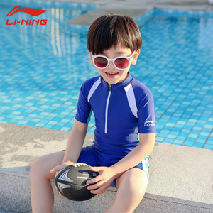 2e6b68c654 洲克Children's Swimsuit Boy Spider-Man Siamese Sunscreen Big Boy ...