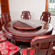 软塑料玻璃PVC圆桌布防水防烫防油免洗透明桌垫圆形餐桌布水晶板